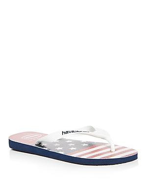 Havaianas Men's Top Usa Stars & Stripes Flip-flops