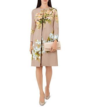 Hobbs London Francine Floral Coat