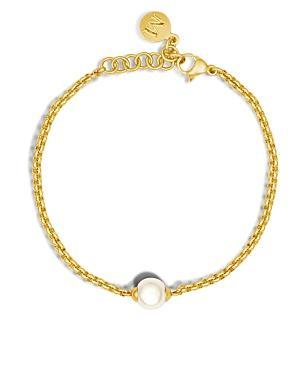 Majorica Classic Link Bracelet