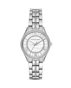 Michael Kors Mini Lauryn Pave Watch, 33mm X 39mm