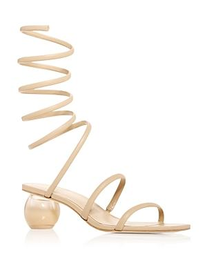 Cult Gaia Women's Freya Wraparound Ankle Strap Sandals