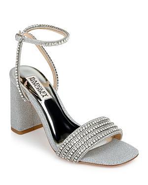 Badgley Mischka Women's Becca Ankle Strap High Heel Sandals
