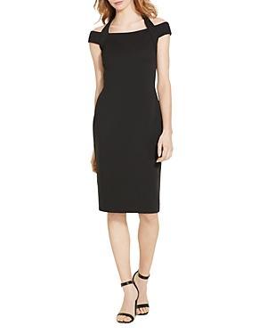 Lauren Ralph Lauren Off-the-shoulder Dress