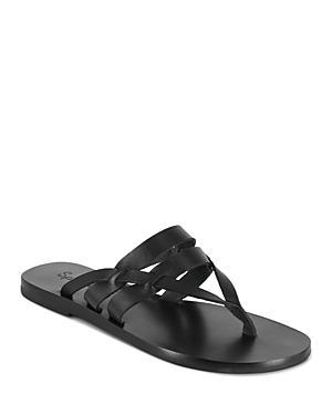 Splendid Women's Salma Almond Toe Leather Thong Sandals