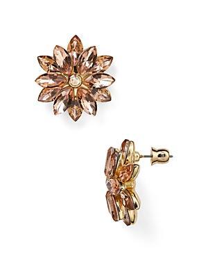 Abs By Allen Schwartz Flower Stud Earrings