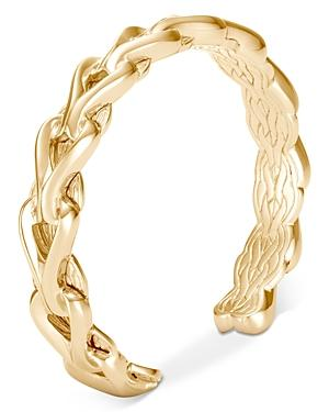John Hardy 18k Yellow Gold Asli Classic Chain Small Cuff
