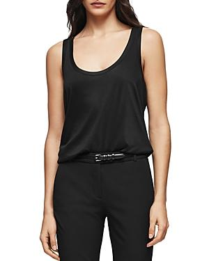 Reiss Lilith Scoop-neck Tank
