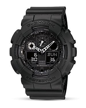 G Shock Oversized Analog/digital Combo Watch, 55 X 51 Mm