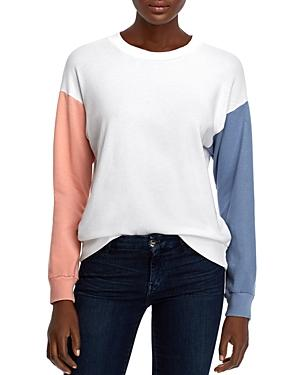 Michelle By Comune Colville Color-block Sweatshirt
