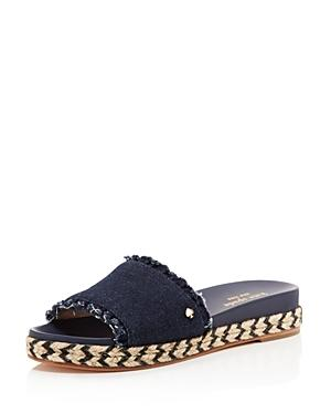 Kate Spade New York Women's Zahara Denim Slide Sandals