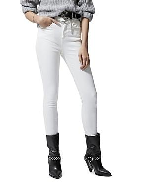 The Kooples Lizy Skinny Jeans In White