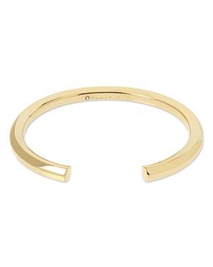 Allsaints Hexagon Skinny Cuff Bangle Bracelet
