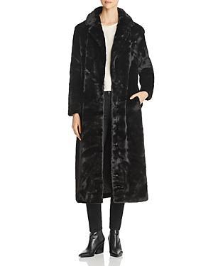 Unreal Fur Blackbird Long Faux Fur Coat