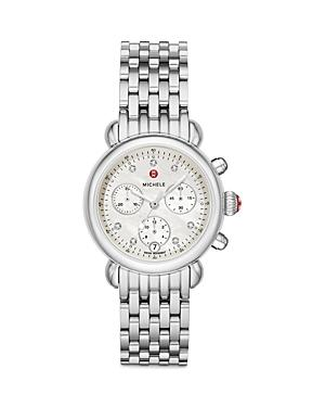 Michele Csx 36 Diamond Chronograph, 36mm (41% Off) - Comparable Value $1,195