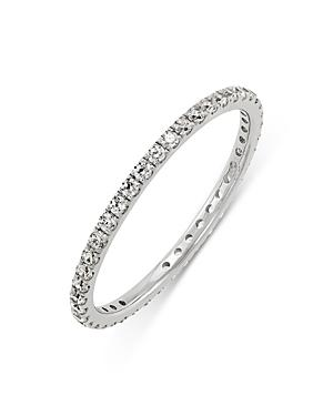 Bloomingdale's Diamond Stacking Eternity Band In 14k White Gold, 0.30 Ct. T.w. - 100% Exclusive