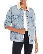 Levi's Dad Sherpa-lined Denim Trucker Jacket