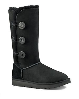 Ugg Bailey Button Triplet Shearling Mid Calf Boots