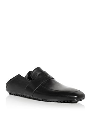 Balenciaga Men's City Loafer Collapsible Apron Toe Loafers