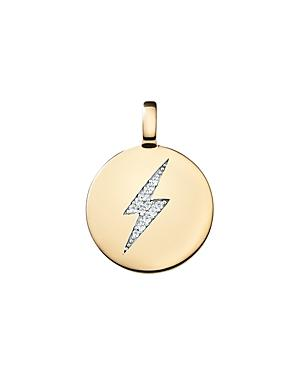 Charmbar Reversible Bolt Charm In Sterling Silver Or 14k Gold-plated Sterling Silver