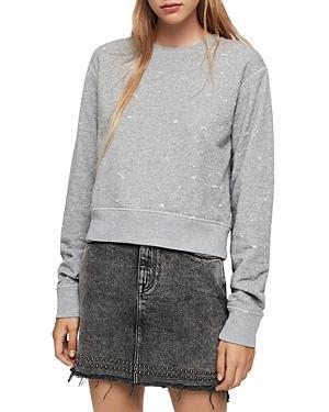 Allsaints Mabelle Distressed Sweatshirt