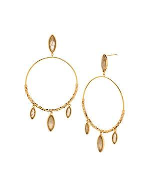 Gorjana Palisades Loop Drop Earrings