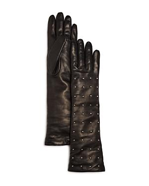 Bloomingdale's Studded Long Gloves