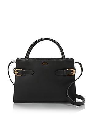 A.p.c. Sac Farrah Mini Leather Handbag