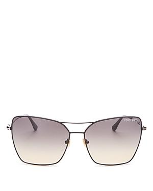Tom Ford Women's Sye Brow Bar Square Sunglasses, 61mm