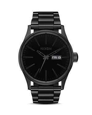 Nixon The Sentry Black Ss Watch, 42mm