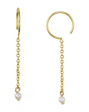 Rebecca Minkoff Baby Hoop Threader Earrings