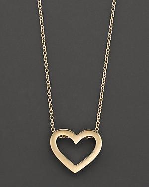 Roberto Coin 18 Kt. Yellow Gold Tiny Treasure Heart Necklace, 18