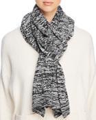 Eileen Fisher Marled Knit Scarf