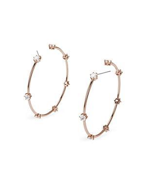 Swarovski Constella Hoop Earrings