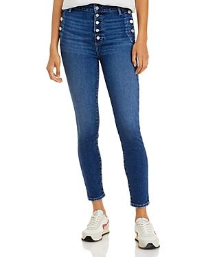 Paige Emmie Skinny Ankle Jeans In Sightseeing