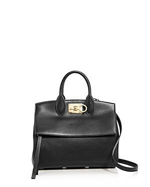 Salvatore Ferragamo Rhapsody Small Leather Satchel