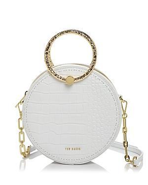 Ted Baker Millah Circular Leather Crossbody Bag