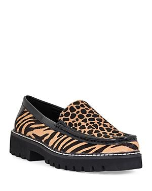 Donald Pliner Women's Hope Animal Print Loafers
