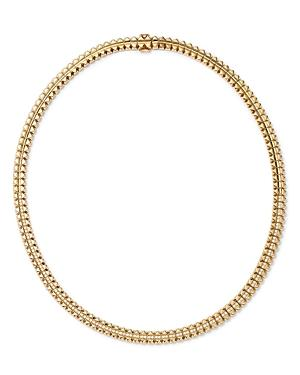 Roberto Coin 18k Yellow Gold Petite Obelisco Diamond Collar Necklace, 1.02 Ct. T.w.