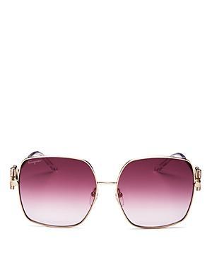 Salvatore Ferragamo Women's Square Sunglasses, 59mm
