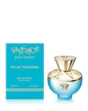 Versace Dylan Turquoise Eau De Toilette, 3.4 Oz