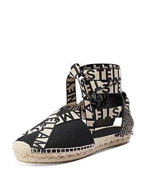 Stella Mccartney Women's Lace Up Espadrille Sandals