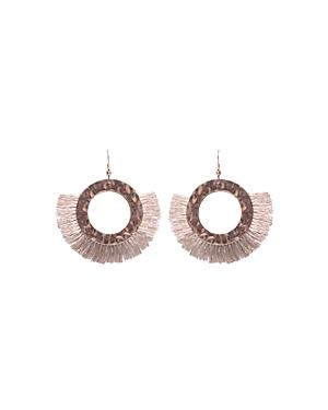 Area Stars Maldives Small Circle Earrings