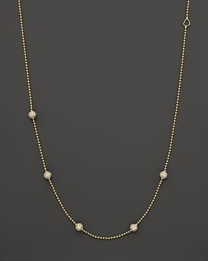 Lagos 18k Gold And Diamond Necklace, 16
