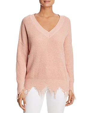 Vero Moda Susan Frayed Trim Sweater