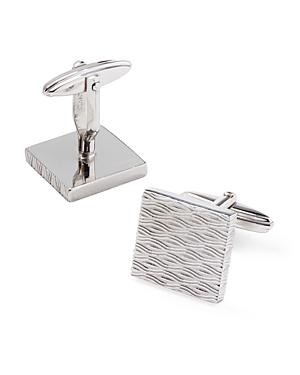 Lanvin Engraved Square Cufflinks