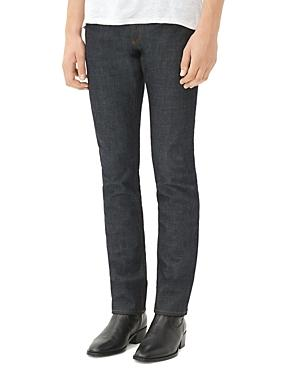 Sandro Jea Pixies Straight Fit Jeans In Raw Denim