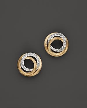 Marco Bicego Diamond Jaipur Link Stud Earrings, 0.29 Ct. T.w.