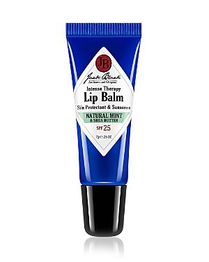 Jack Black Natural Mint & Shea Butter Intense Therapy Lip Balm Spf 25