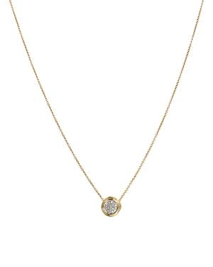 Marco Bicego 18k Yellow Gold Delicati Pendant Necklace With Diamonds, 16.5