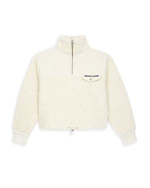 The Kooples Quilted Yoke Sweatshirt